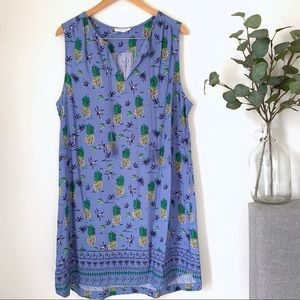 •BeachLunchLounge• Kayla Pineapple Coverup Dess